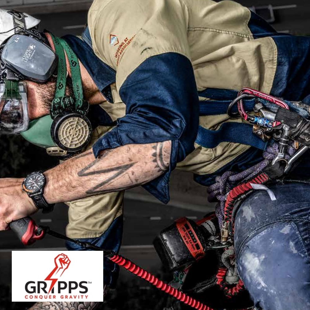 Gripps Tool Tethering: Connected Devices That Don't Lose Their Grip